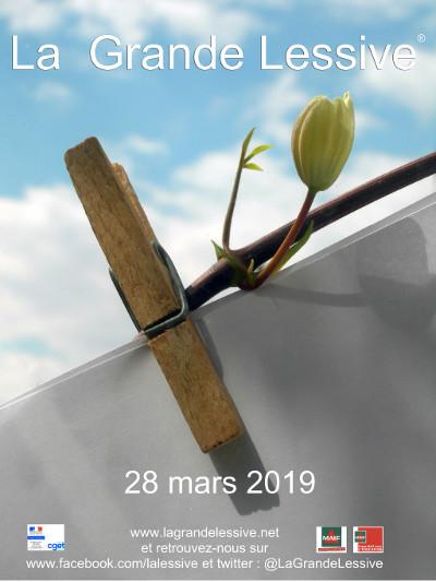 VENEZ ETENDRE 'VOTRE LINGE' en participant à La GRANDE LESSIVE 2019 à ISSIGEAC