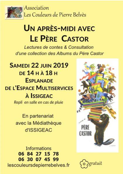 Trois rendez-vous pour le mois de Juin 2019