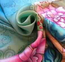 Pour la fin du mois de novembre, Atelier Peinture sur Soie