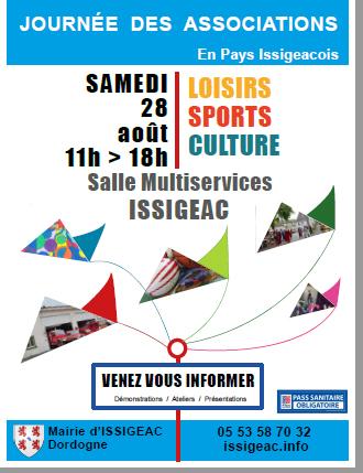 Read more about the article Journée des Associations, le 28 août