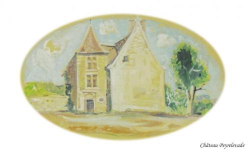 Château de Peyrelevade à Conne de Labarde