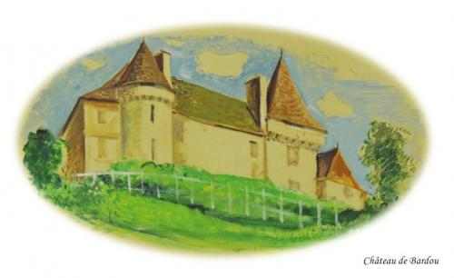 Château de Bardou à Bardou