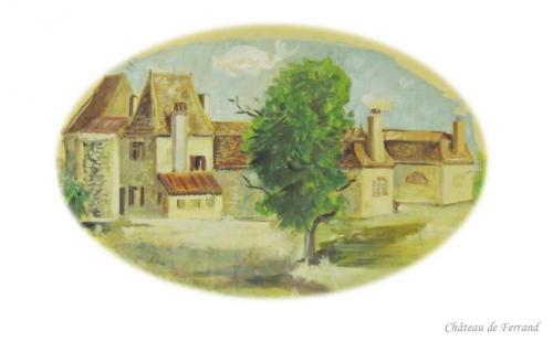 Château de Frerrand à Issigeac