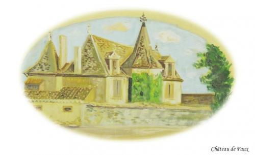 Château de Faux à Faux