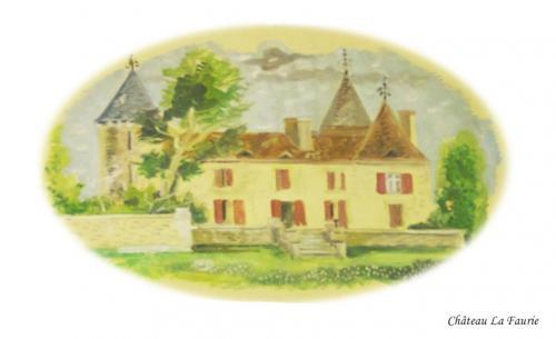Château La Faurie à Monsaguel