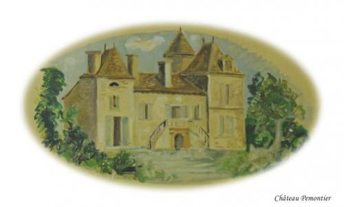 Château Pémontier à St Cernin de Labarde