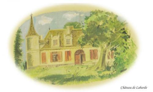 Château de LaBarde à St Cernin de Labarde