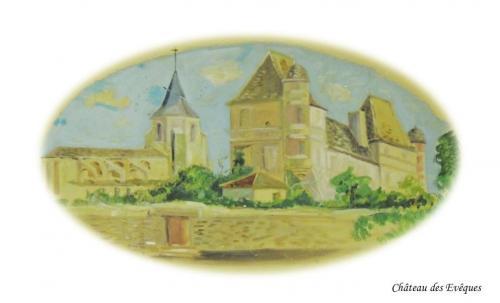 Château des Evêques à Issigeac