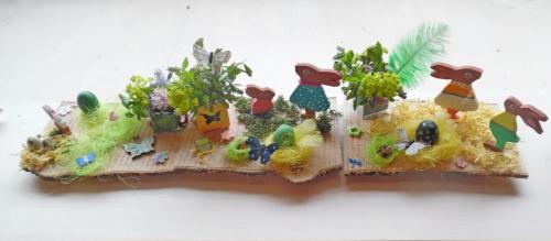 2019 - Décor floral & Oeufs - Vacances printemps