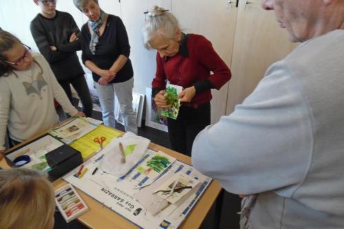 2019- Atelier spécial Papiers/Collés Helen HILL - 26 oct